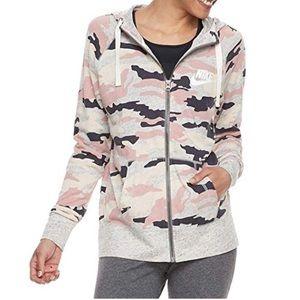 Nike Sportswear Gym Camo Full Zip Hoodie XL NWT